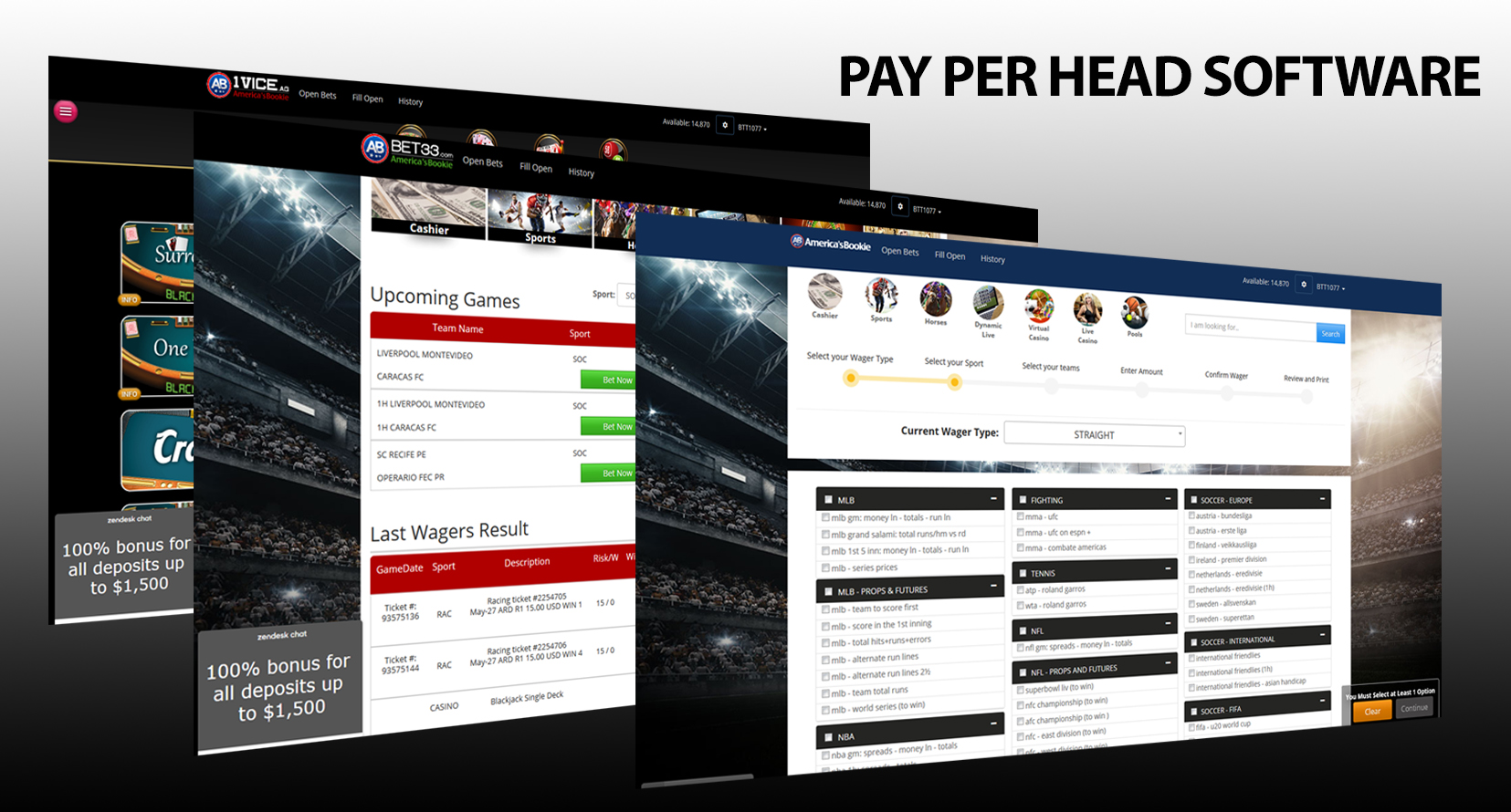 What is Pay Per Head Bookie Software ?